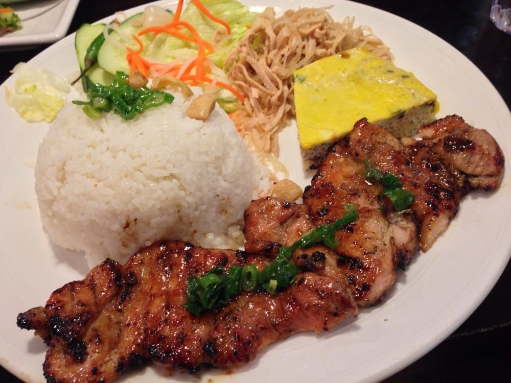 COM GA NUONG Vietnamese roasted Chicken